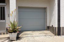 Portão Seccionado Micro Frisado